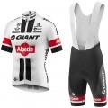 Ensemble cuissard vélo et maillot cyclisme équipe pro Giant Alpecin