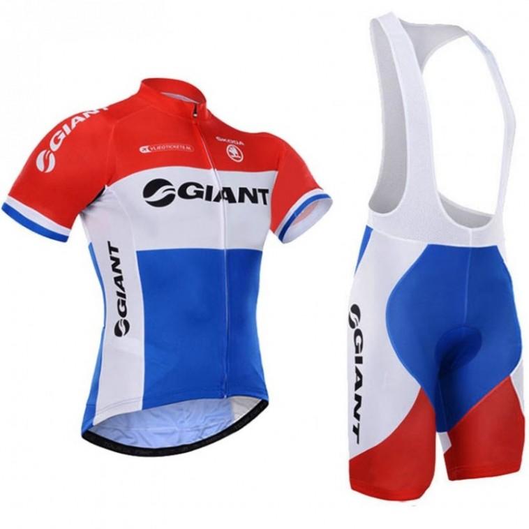 Ensemble cuissard vélo et maillot cyclisme Giant