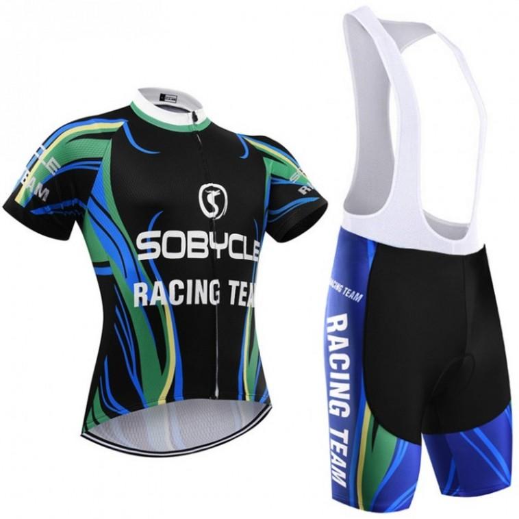 Ensemble cuissard vélo et maillot cyclisme Sobycle Racing Team