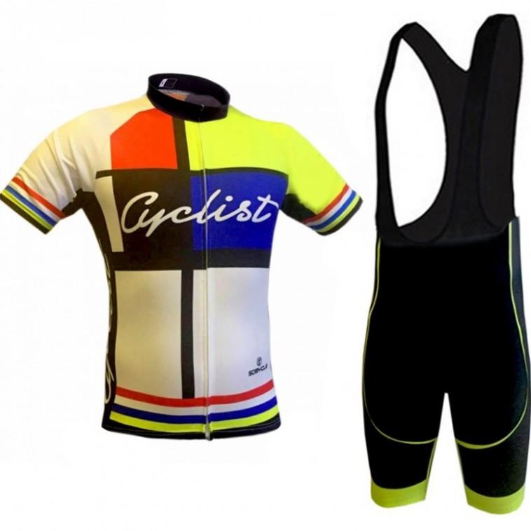 Ensemble cuissard vélo et maillot cyclisme Sobycle Cyclist