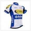 Ensemble cuissard vélo et maillot cyclisme équipe pro Topsport Vlaanderen-Baloise