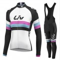 Ensemble cuissard vélo et maillot cyclisme hiver femme LIV