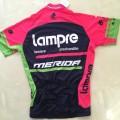Maillot vélo équipe pro Lampre Merida manches courtes