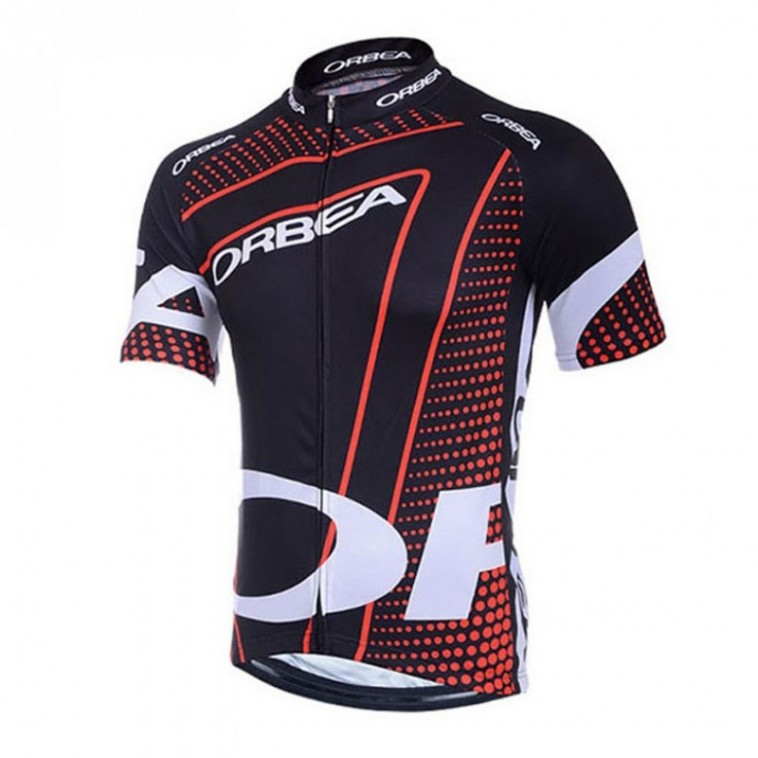Maillot vélo manches courtes Orbea rouge