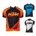 Maillot vélo équipe pro KTM manches courtes