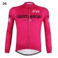 Maillot vélo Tour d'Italie La Gazetta dello Sport manches longues