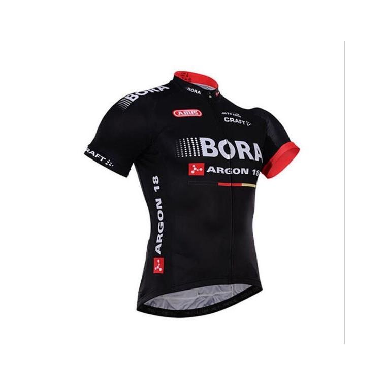 Maillot vélo équipe pro BORA Argon 18 manches courtes
