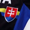 Ensemble cuissard vélo et maillot cyclisme équipe pro Slovakia noir