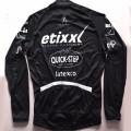 Maillot vélo équipe pro Etixx Quick Step manches longues hiver polaire thermique