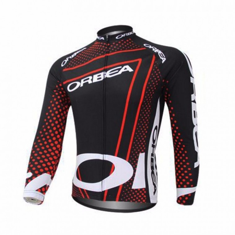 Maillot vélo Orbea manches longues hiver polaire thermique