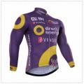 Ensemble cuissard vélo et maillot cyclisme hiver thermique équipe pro Alé Direct Energie Vendée