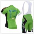 Ensemble cuissard vélo et maillot cyclisme équipe pro Bardiani Valvole Csf
