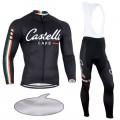 Ensemble cuissard vélo et maillot cyclisme hiver pro Castelli Café