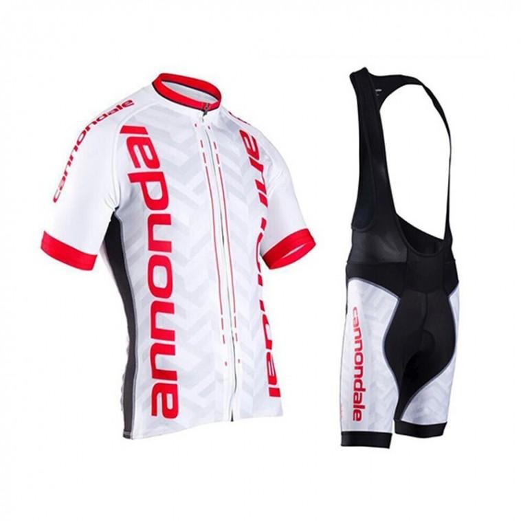 Ensemble cuissard vélo et maillot cyclisme pro Cannondale