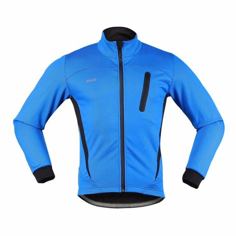 Veste polaire thermique vélo hiver grand froid Arsuxeo 2017