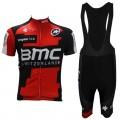 Ensemble cuissard vélo et maillot cyclisme équipe pro BMC Suisse