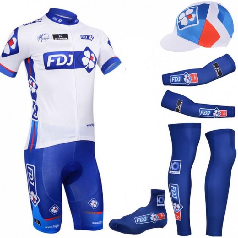 Tenue complète cyclisme équipe pro FDJ La Française des Jeux