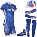 Tenue complète cyclisme équipe pro FDJ La Française des Jeux 2014