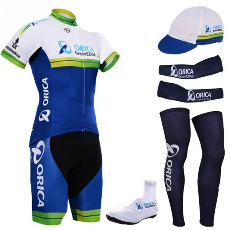 Tenue complète cyclisme équipe pro Orica GreenEdge