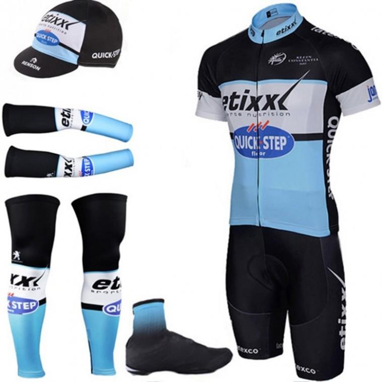 Tenue complète cyclisme équipe pro Etixx Quick Step
