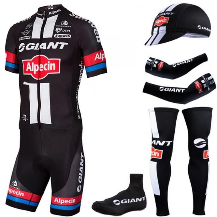 Tenue complète cyclisme équipe pro Giant Alpecin