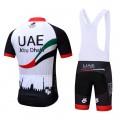 Ensemble cuissard vélo et maillot cyclisme pro UAE Abu Dhabi