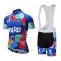 Ensemble cuissard vélo et maillot cyclisme équipe pro MAPEI