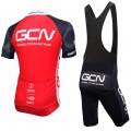 Ensemble cuissard vélo et maillot cyclisme équipe pro GCN