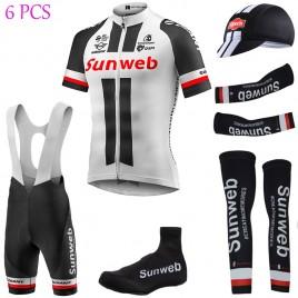 Tenue complète cyclisme équipe pro Sunweb Giant blanc 2017