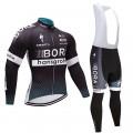 Ensemble cuissard vélo et maillot cyclisme hiver équipe pro Bora Hansgrohe Craft