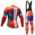 Ensemble cuissard vélo et maillot cyclisme hiver équipe pro Vini Fantini - Nippo