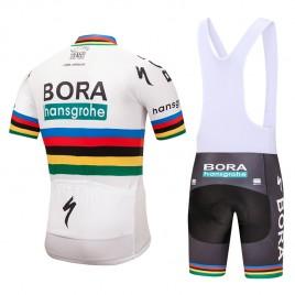 Ensemble cuissard vélo et maillot cyclisme équipe pro Bora UCI 2018