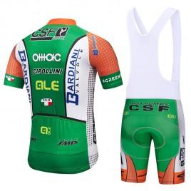 Ensemble cuissard vélo et maillot cyclisme équipe pro Bardiani CSF 2018