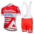 Ensemble cuissard vélo et maillot cyclisme équipe pro Androni 2018