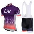 Ensemble cuissard vélo et maillot cyclisme équipe pro LIV 2018
