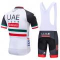 Ensemble cuissard vélo et maillot cyclisme équipe pro UAE Team Emirates 2018