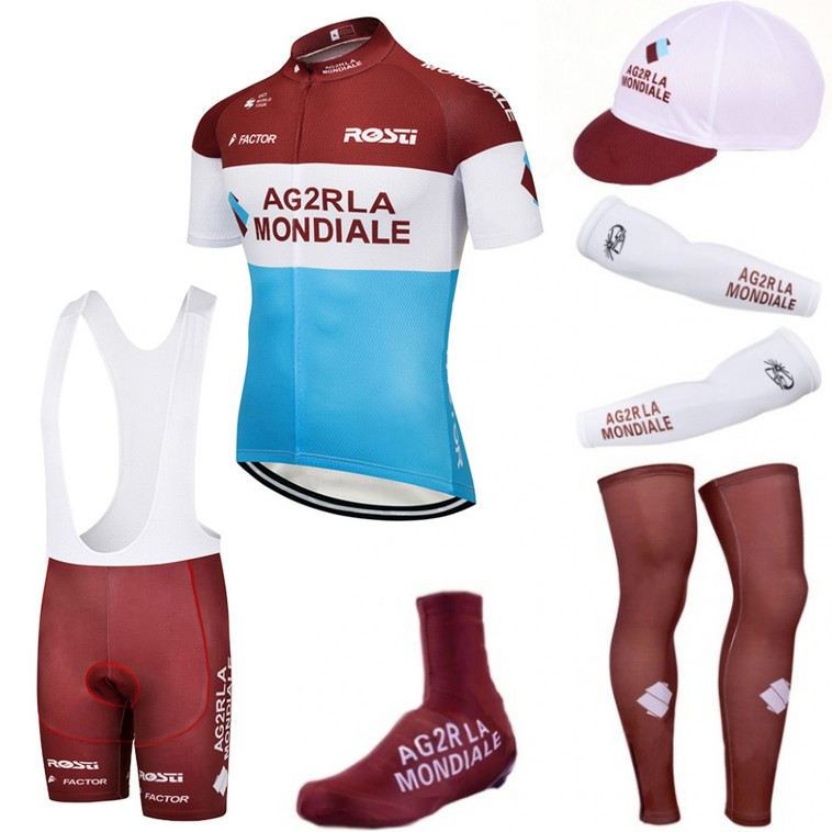 Tenue complète cyclisme équipe pro AG2R La Mondiale 2018