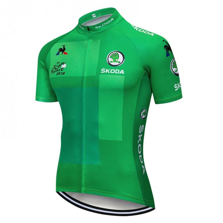 Maillot Vert Tour de France 2018 Skoda