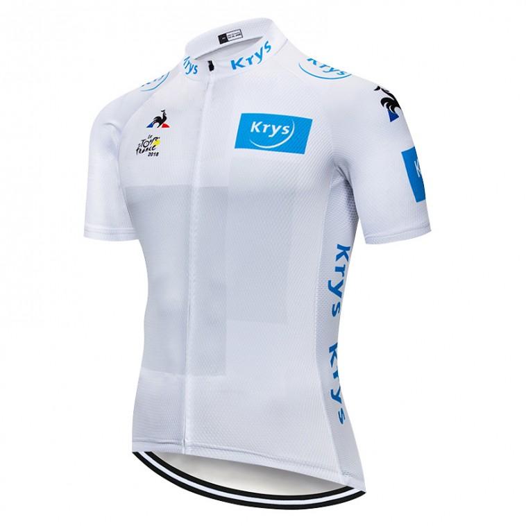 Maillot Blanc Tour de France 2018 Krys