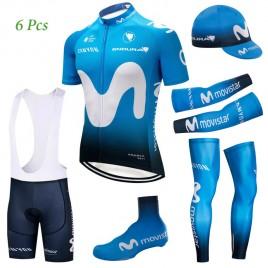Tenue complète cyclisme équipe pro Movistar 2018