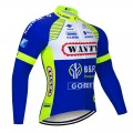 Maillot vélo hiver pro Wanty Gobert 2018