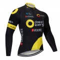 Maillot vélo hiver pro Direct Energie 2018