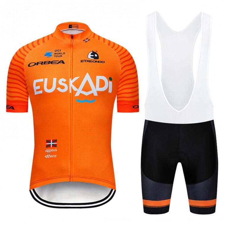 Ensemble cuissard vélo et maillot cyclisme pro EUSKADI 2019