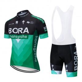Ensemble cuissard vélo et maillot cyclisme pro BORA 2019