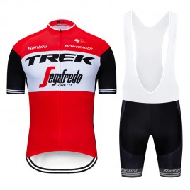 Ensemble cuissard vélo et maillot cyclisme pro TREK Segafredo 2019