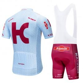 Ensemble cuissard vélo et maillot cyclisme pro KATUSHA ALPECIN 2019