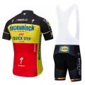 Ensemble cuissard vélo et maillot cyclisme pro DECEUNINCK QUICK STEP 2019 Belgique