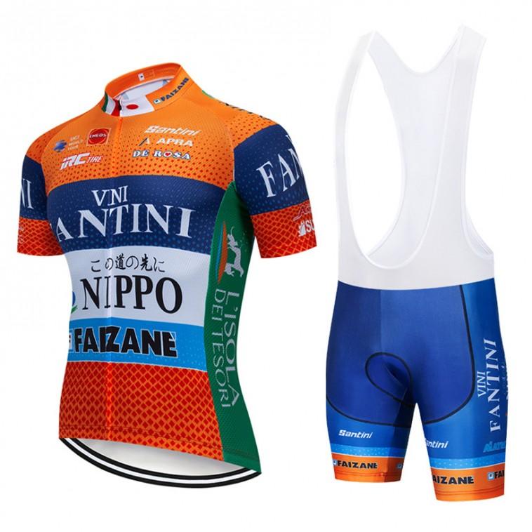Ensemble cuissard vélo et maillot cyclisme pro Vini Fantini - Nippo 2019