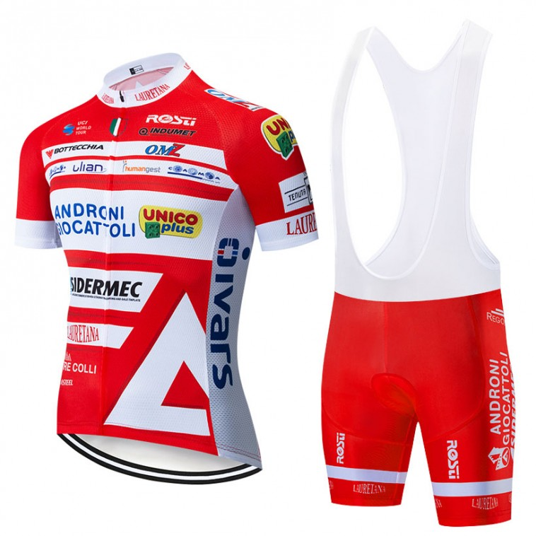 Ensemble cuissard vélo et maillot cyclisme pro Androni Giocattoli 2019