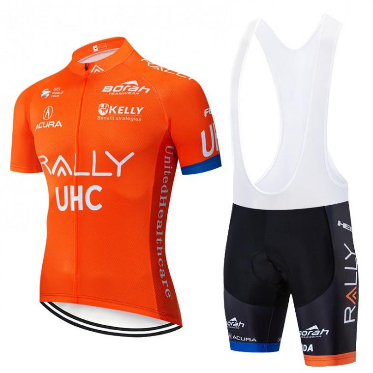 Ensemble cuissard vélo et maillot cyclisme pro Rally UHC 2019